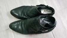 bimba & lola botines en verde piel Stiefel originales stivali  39 bottes boots