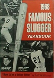 1968 LOUISVILLE SLUGGER YEARBOOK (ROBERTO CLEMENTE, CARL YASTRZEMSKI CVR +