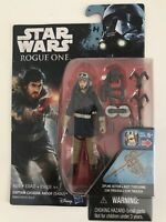 "Captain Cassian Andor - Eadu - Star Wars Rogue One 3.75"" ActionFigure Brand New"