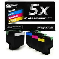 5x Pro Cartridge For Lexmark C-544-N X-544-DW C-546-DTN X-544-N X-544-DN