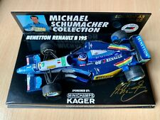 F1 1/43 Minichamps Michael Schumacher Benetton Renault B195 GP Europe #22
