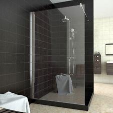 Duschkabine Walk in Dusche 120x200cm Duschwand Duschabtrennung NANO-Versiegelung