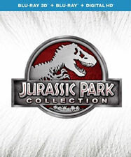 Jurassic Park Collection (Blu-ray/DVD, 2015, 6-Disc Set, 3D) UPHE