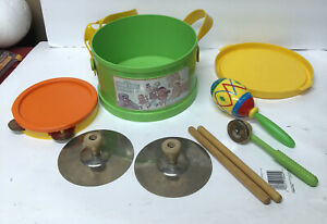 1982 Sesame Street Traveling Band A Child Guidance Toy Set Instruments