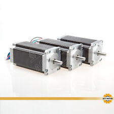 ACT Motor GmbH 3PC Nema23 Stepper Motor 23HS2430 3A 112mm 425oz CNC Engrave Cut