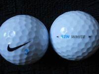 "20  NIKE  ""RZN SPEED WHITE"" - 2017/18 MODEL - Golf Balls - ""PEARL/A""  Grades."