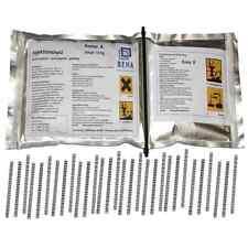 Gießharz im Knetbeutel Epoxidharz + 30 Estrichklammern zur Estrich Sanierung