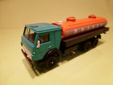 MADE IN USSR KAMAZ 53212 TRUCK + FUELTANKER - RED 1:43 - VERY GOOD CONDITION