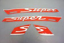 Vespa GTS 125 250 300 Aufkleber Aufkleberdekor Super sticker decor rot weiß