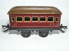 Spur 0 Bing 10/57 Personenwagen rot braun 2.Klasse