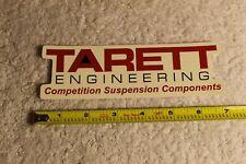 "TARETT ENGINEERINGCompetition Suspension sticker Approx 6.5"" wide. New."