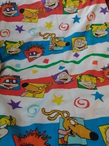 Rugrats Twin Flat Sheet And Pillow Case