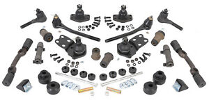 Super Orig Front End Kit 1962-64 Ford Fairlane (MS; to 3/1/64; w/steel sleeves)