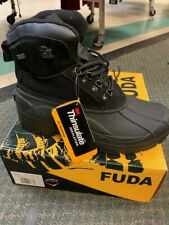 Mens Snow Boots Insulated Waterproof Genuine Leather Trinsulate SIZE 11
