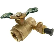 """Ames 3/4"""" Ball Valve with Test Cock 7017421 Full Port FBV-TC-TH-Ames Bronze"""