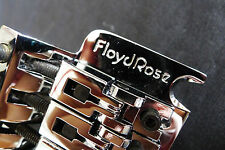 Genuine Floyd Rose Guitar Tremolo Bridge System With 43mm R3 Lock Nut Chrome FRC