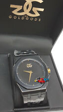 The Gold Gods Octavius Black Watch V2 5 ATM style stainless case housing & band