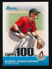 Bobby Borchering ⚾ 2010 Bowman Topps 100 Insert #TP26 Diamondbacks