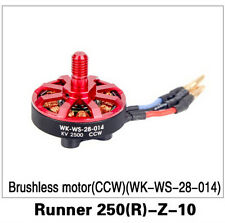 F16491 WALKERA Runner 250 Advance Parts (R)-Z-10 Brushless Motor CCW Red
