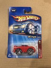Hot Wheels Blings #35 Red 2005 First Editions Quadra-Sound