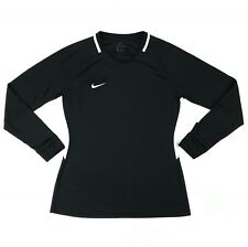 New Nike Park 3 Soccer Goalkeeper Jersey Women's Medium Black Long Sleeve