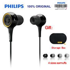 Original Philips SHE6000 Headphone Surround In-Ear Headset Subwoofer Earphones