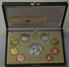 GN465 Vatikan Original Euro Kursmünzensatz 2010 Proof PP KMS mit Silbermedaille