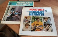 Hermin's Hermits Vinyl LP Lot With Original Inner Sleeves MGM Records