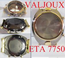 Nouvelle montre case Valjoux 7750 Automatic ETA Chronograph veglia titan 2282
