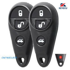 2 Remote Key Fob 4B for Subaru 09-13 Impreza, 11-13 Forrester Outback Legacy