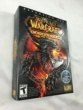 World Of Warcraft Cataclysm (Add On). Free Shipping. Brand New. Sealed Factory