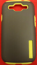Incipio Dual Protection Silicrylic Case for Samsung Galaxy SIII S3 Black w/Lime