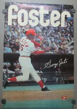 George Foster Cincinnati Reds 1976 Poster