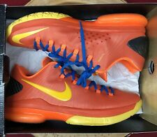 on sale 78d6b 93c10 Nike KD V Elite Team Orange Tour Yellow Photo Blue Size 9 585386 800 Jordan  VI