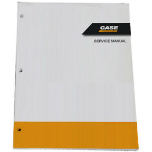 CASE CX210 Crawler Excavator Shop Service Repair Manual - Part # 7-29041