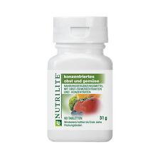 AMWAY Concentrado Frutas y Verduras NUTRILITE contiene antioxidanten