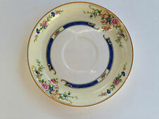 Johnson Bros Brothers Pareek Tea Cup Saucer Rose Flower Blue Ring Diamond