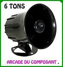 1 SIRENE KLAXON 6 TONS AUTOMATIQUE 115dB (ref 71032-1) Poids 700g