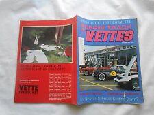 KEEPIN' TRACK OF VETTES-(MAGAZINE)-SEPTEMBER,1986-FIRST LOOK! 1987 CORVETTE