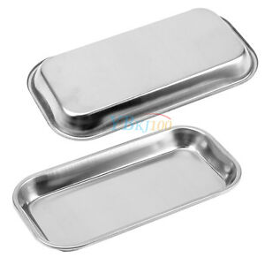 Medical 201 Stainless Steel Surgical Tray Dental Instrument Operation Salver
