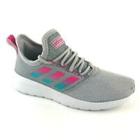 Adidas Women's Lite Racer Reborn - Grey Pink Aqua - Running Shoes - Sz: 7.5