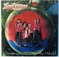 New Edition : Christmas All Over The World. 1985 MCA-39040 PROMO LP