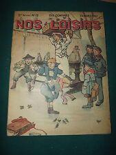 magazine NOS LOISIRS N°12 du 24/03/1907  S166