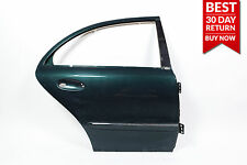 03-09 Mercedes W211 E500 E350 Door Shell Rear Right Passenger Side GREEN OEM