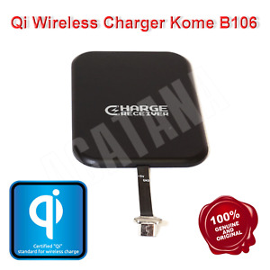 Wireless Qi Charger Micro USB Inner Pad Receiver for Android Kome B106