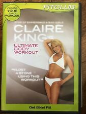 CLAIRE KING'S ULTIMATE BODY WORKOUT ~ Exercise Fitness Dance Routine UK DVD