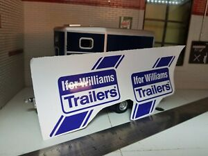 Ifor Williams OEM Livestock Tipping Tiltbed Trailer Mudguard Decals Stickers x2