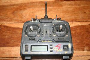 Vintage HITEC Flash 5 Remote Control Transmitter - No Batt Pack, Untested