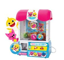 Pinkfong Shark Family Gift Capsule Random Machine Toy LED Light Korean Song