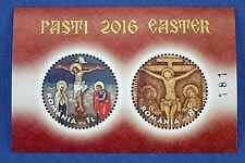 Rumänien Romania 2016 Ostern Easter Gemälde Block 661 + Silberreplik Auflage 421
